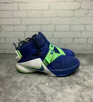 Nike Lebron 1X Soldiers Sneakers Basketball Shoes 776471- 441 Size 4y