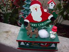 Weihnachtsspieluhr, Spieluhr, Weihnachtsmann, Stille Nacht, heilige Nacht,