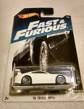 "Hot wheels Fast and Furious 1994 Toyota Supra. Rare,Mint,HTF! ""J"" case. 7/8"