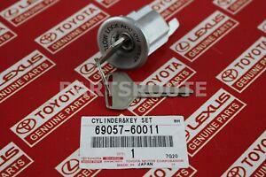 Toyota Land Cruiser BJ40 OEM Ignition Lock Cylinder Barrel & Key 69057-60011