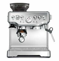 Breville Barista Express BES870XL 2 Cups Espresso Machine - Silver