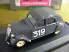 1/43 Vitesse Citroen 2 CV Montecarlo 1954 #319 524
