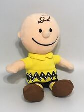 """Peanuts Charlie Brown Bean Plush Boy Doll 8"""" Display Only EXCELLENT"""