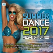 Various Artists : Summer Dance Megamix Top 100 CD Box Set 3 discs (2017)