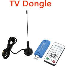 Portatile Digitale USB 2.0 SDR Tuner Ricevitore DVB-T +FM RTL2832U TV Stick W2E0