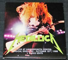 METALLICA -Live At Hammersmith Odeon + Radio Edits- 2CD Set from AJFA Deluxe