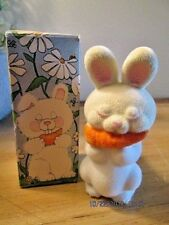Vintage Avon Fuzzy Bunny Sweet Honesty Cologne with Box