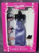 barbie lingerie FASHION AVENUE tenue accessoire 1996 Mattel 14292 robe violette