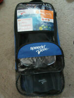 Speedo Water Swimming Dive  Dive Mask Snorkel Fin Junior  Sz L.XL 1-4  Set