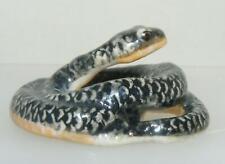 More details for klima miniature porcelain animal figure grey snake m223