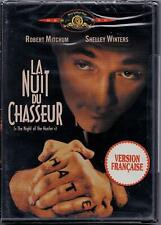 The Night of the Hunter/ La Nuit du Chasseur (1955)(Dvd, 2003, French Cover) New