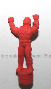 "1979 Japan DC Comics Japanese The Atom 1"" Keishi Mini Red Figure"