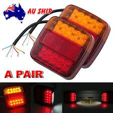 2x LED Trailer Lights Brake Reverse 20 LEDs Truck Boat Tail Indicator Lights 12V
