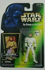 STAR WARS 1996 LUKE SKYWALKER IN STORMTROOPER DISGUISE W BLASTER POTF1