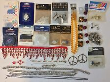 Big Lot Of Jewelry Findings Beads Strands Bead Gallery Blue Moon Glass Stones