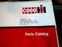 1979 IH Case Cub & Lo-Boy Tractor Parts Catalog TC-37F