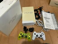 Sony PlayStation 2 Console SCPH-50000PW Perl White Color with BOX and Manual 2
