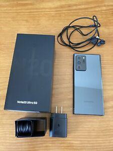 Samsung Galaxy Note 20 Ultra 5G SM-N986U - 128GB - Mystic Black (Unlocked)