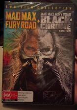 New-MAD MAX - FURY ROAD + mad Max black chrome edition DVD PAL 4  SEALED