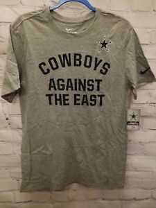Dallas Cowboys Against the East Rally Nike Adult  Mens T-Shirt X-Large Brand NEW