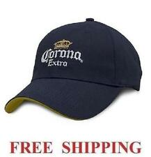 CORONA EXTRA LOGO EMBROIDERED BEER CAP BASEBALL PROMO HAT NEW