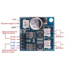 Dual Channel 3.5A DC Stepper Motor Driver Mini Module H Bridge PWM Speed Control