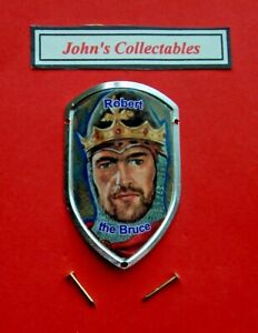 ROBERT THE BRUCE WALKING / HIKING STICK BADGE / MOUNT  LOT M NEW IN PACKET