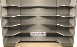 Ladenregale Supermarkt Regale ECKREGALE Verkaufsregale NEUWARE