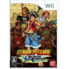 Used Wii From TV Animation One Piece: Unlimited Adventure Japan Import