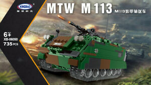 Klemmbausteine Xingbao 06050 MTW M113 Bundeswehr - Lego kompatibel - 735 Teile