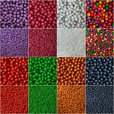 Edible Cupcake Sprinkles Polished Pearls 100s Cake Toppers Decorations Birthday