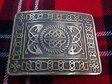 TC Men's Kilt Belt Buckle Celtic Knot Antique Finish/Celtic Knot Belt Buckle
