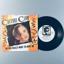 "Culture Club - Do You Really Want To Hurt Me (1982) 7"" Single Vinyl Record VS518"