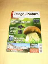 """Image & Nature N°35 octobre 2010 """"spécial champignons"""""""