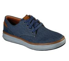 Skechers Mens Moreno Ederson Shoes Sketchers Comfort Light Casual Navy Size 9 US