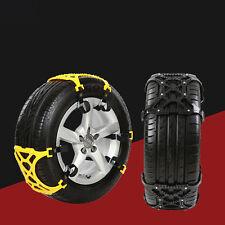 Anfahrhilfe Schnee Eis Schneekette Reifen Spikes Kette Schneeketten 165-265mm