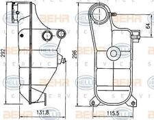 8MA 376 755-151 Hella Ausgleichsbehälter Kühlmittel