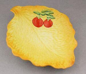 Vintage BESWICK Yellow Salad Plate 241 Shape RARE COLOUR English China