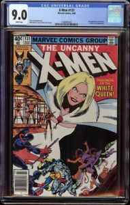 X-Men # 131 CGC 9.0 White (Marvel 1980) 2nd appearance Dazzler Newsstand edition