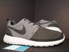 2012 Nike ROSHE RUN ROSHERUN PREMIUM NRG ANTHRACITE GREY PLATINUM BLACK 10.5