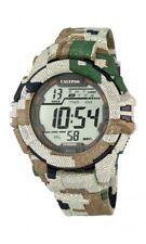 Calypso Herrenuhr Uhr Digitaluhr Camouflage Timer Alarm 10 ATM K5681/3