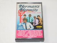 Herman's Hermits Greatest Hits Cassette Tape 1988 Highland Music Leaning on the