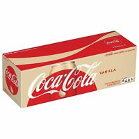 Coca Cola Vanilla 12 oz Cans (Pack Of 12)