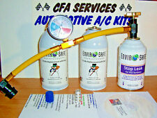 1995-OLDER / R12 COMPATIBLE REFRIGERANT + STOP LEAK / 12a / 3 CAN RECHARGE KIT