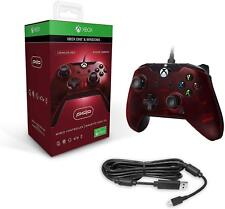 PDP Wired Controller for Xbox One & PC Crimson Red - Brand New!