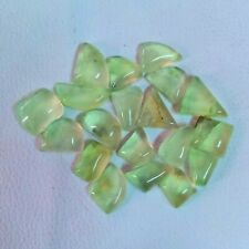 20 Pieces ! 100% Natural Green Prehnite 12 To 15mm CAB Wholesale Gemstone TA-385