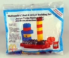 Vtg McDonald's 1984 Happy Meal Lego Building Sets