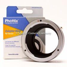 Phottix Lens Mount Adapter Ring - Canon EOS (EF)/Sony NEX - NEW