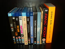 David Fincher Collection 12 Blu-rays 3 DVDs Plus Book and Screenplay