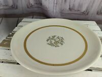 Franciscan fremont serving platter plate retired tree gold rimmed holiday specia